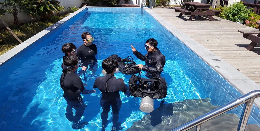 부대시설-스쿠버다이빙체험(유료)