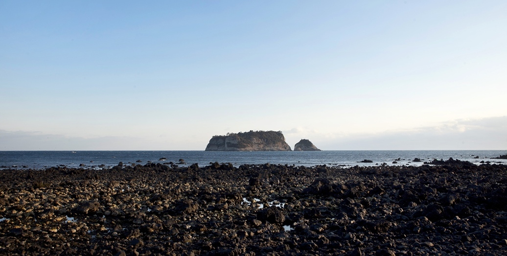 펜션앞바다범섬