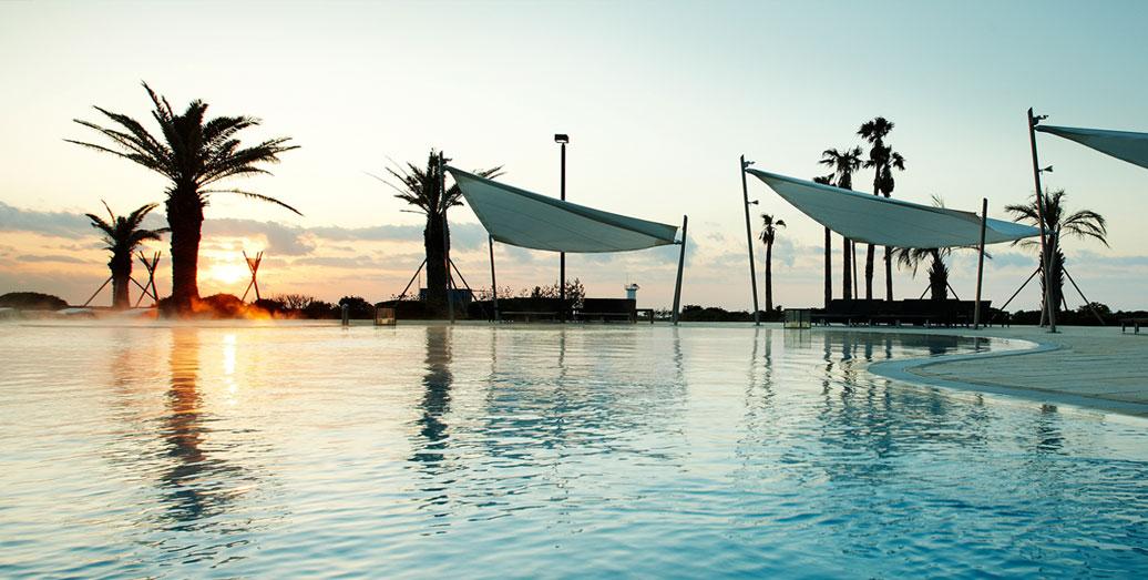 해비치호텔 야외수영장