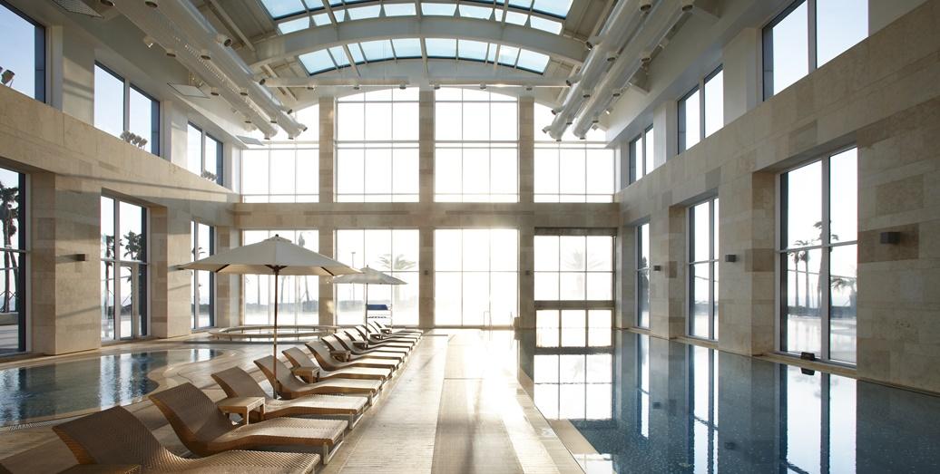 해비치호텔 실내수영장