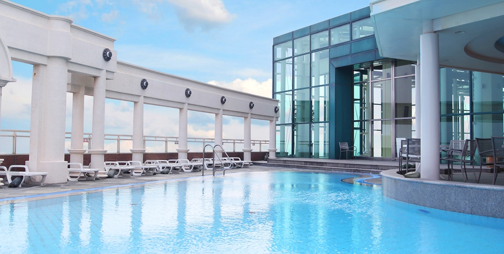 라마다야외수영장